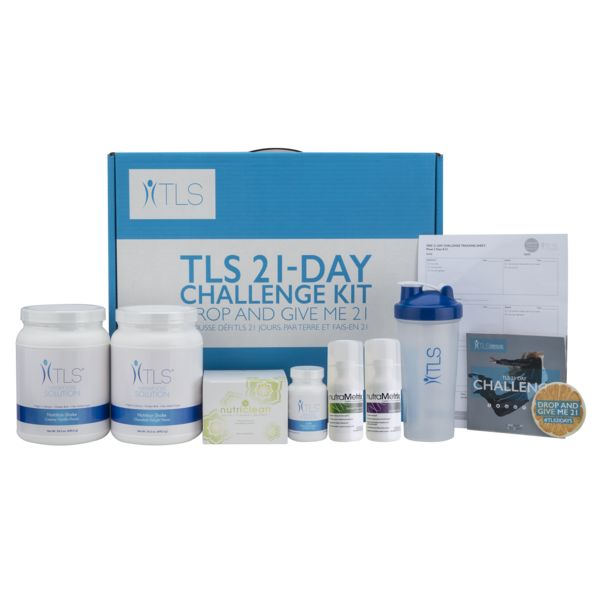 TLS 21 Day Challenge Kit Weightloss Supplement